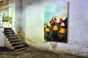 Ausstellung LOKstoff 09