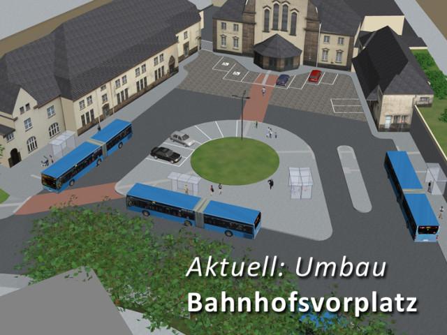Umbau Bahnhofsvorplatz