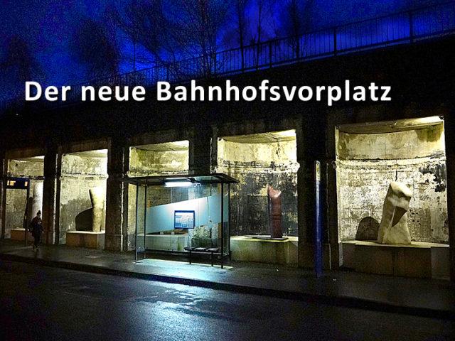 Neugestaltung Bahnhofsvorplatz