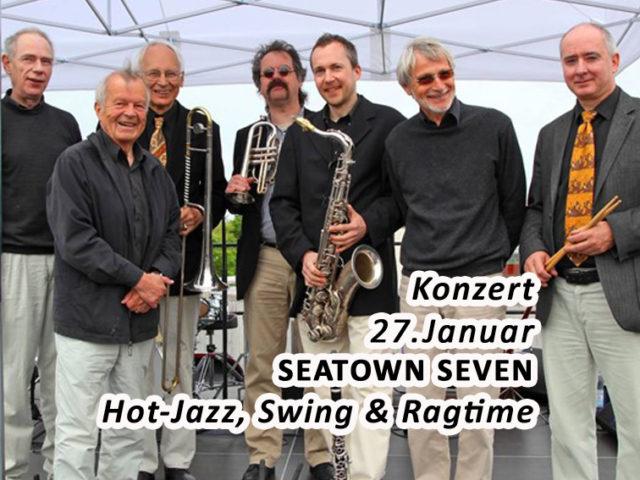 Aktuell: Konzert  Seatown Seven, 27. Januar