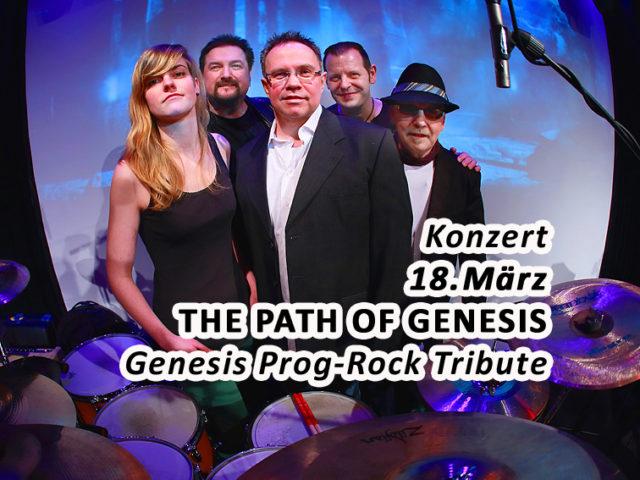 Aktuell: Konzert THE PATH OF GENESIS  18. März