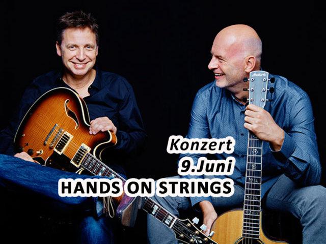 Aktuell: Konzert HANDS ON STRINGS, 9. Juni