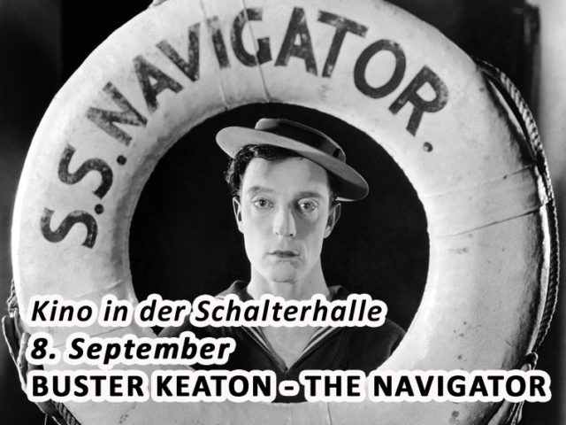 Aktuell: Kino in der Schalterhalle THE NAVIGATOR 8. September