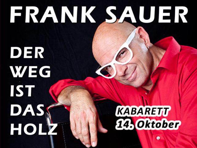 Aktuell KABARETT 1410 Frank Sauer