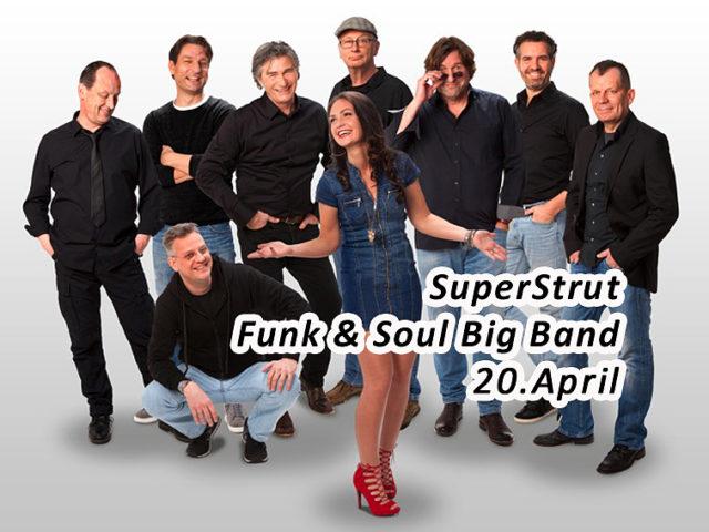 Aktuell: Konzert 20.04. Super Strut
