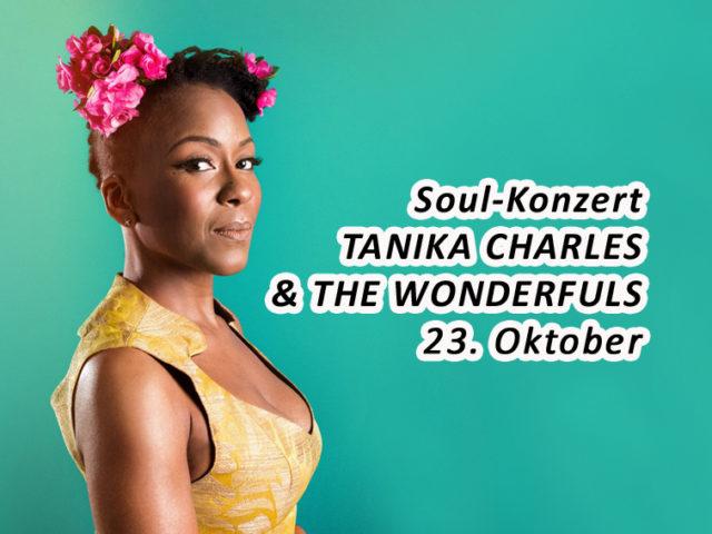 Aktuell: Konzert 23.10. TANIKA CHARLES