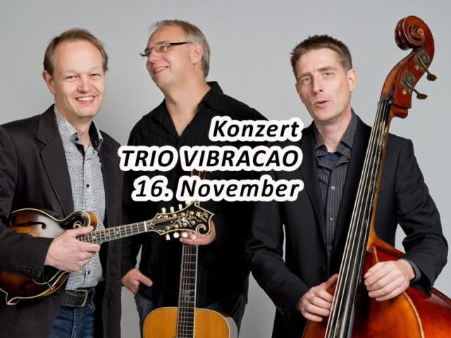 Aktuell: Konzert 16.11. TRIO VIBRACAO