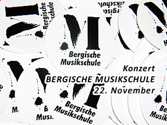 Aktuell: Konzert 22.11. Bergische Musikschule