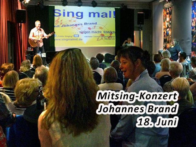 Aktuell: Mitsing-Konzert 18.6.