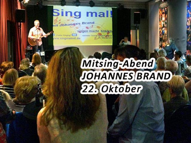 Aktuell: Sing mal… 22.10.