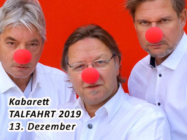 Aktuell: Kabarett TALFAHRT 13.12.