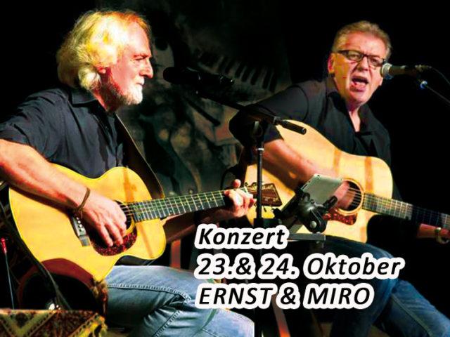 Aktuell: Konzert ERNST & MIRO
