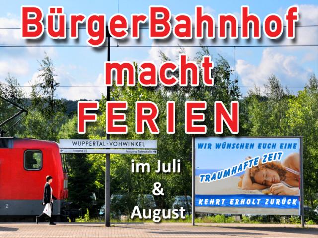 "Aktuell: ""Theaterferien"" im Juli & August"