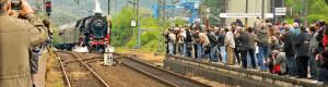 Wir machen Dampf - Bahnhofsfest 2009