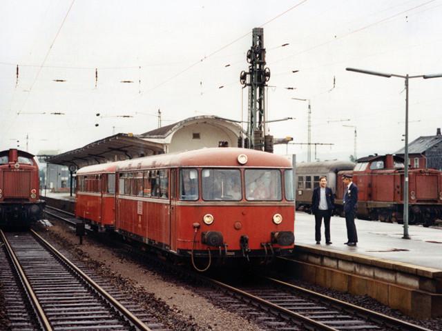 Unser Bahnhof – 1980er Jahre