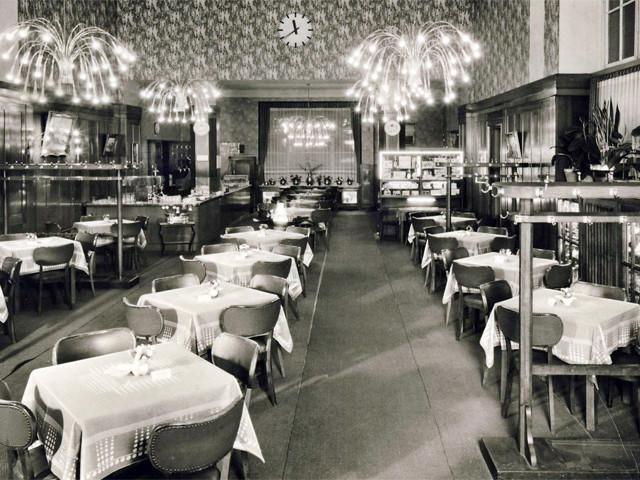 Unser Bahnhof – Bahnhofsgaststätte 1950er Jahre