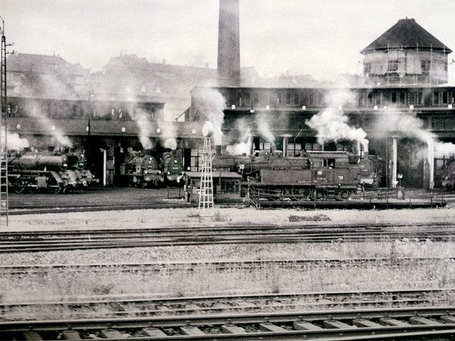 Unser Bahnhof – Betriebswerk  1960er Jahre