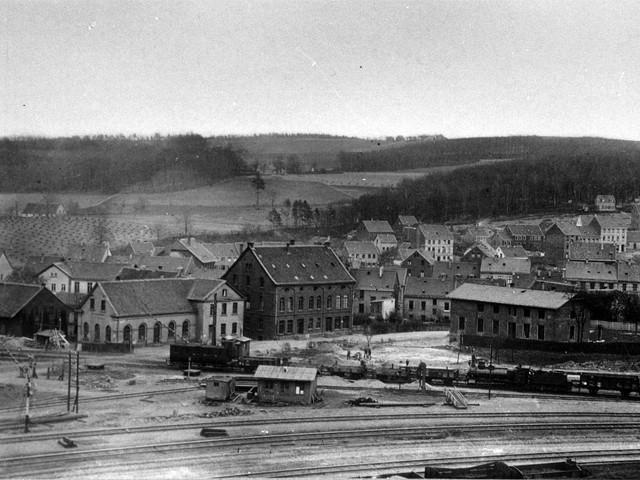 Unser Bahnhof – Erster Bahnhof 1841-1870