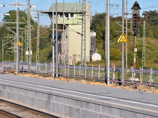 Unser Bahnhof – Neuer Bahnsteig 2