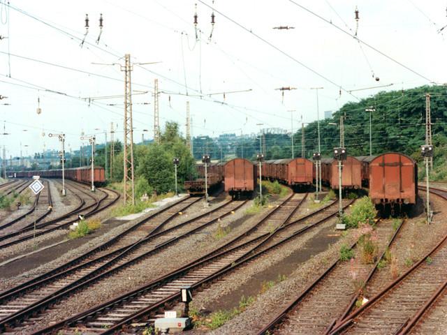 Unser Bahnhof – Rangierbahnhof  1980er Jahre – Foto Schellin