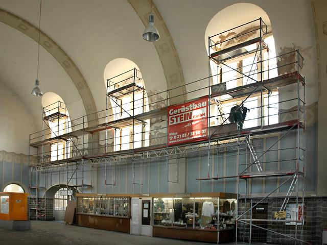 Unser Bahnhof – Reparatur Fensterwangen