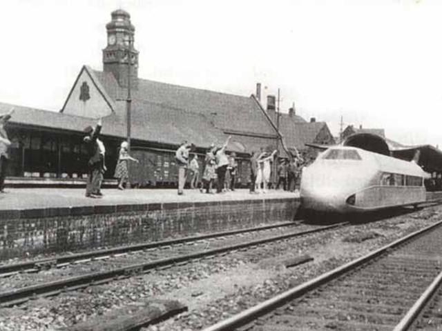 Unser Bahnhof – Schienenzeppelin 1931
