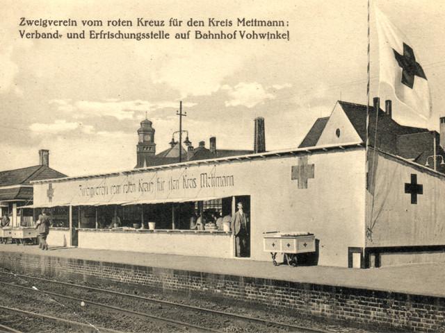 Unser Bahnhof – Verbandsstation 1Weltkrieg