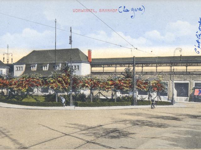 Unser Bahnhof – Vorplatz  1920er Jahre