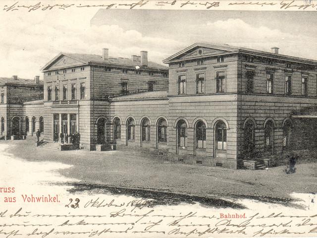 Unser Bahnhof – Zweiter Bahnhof 1871-1908