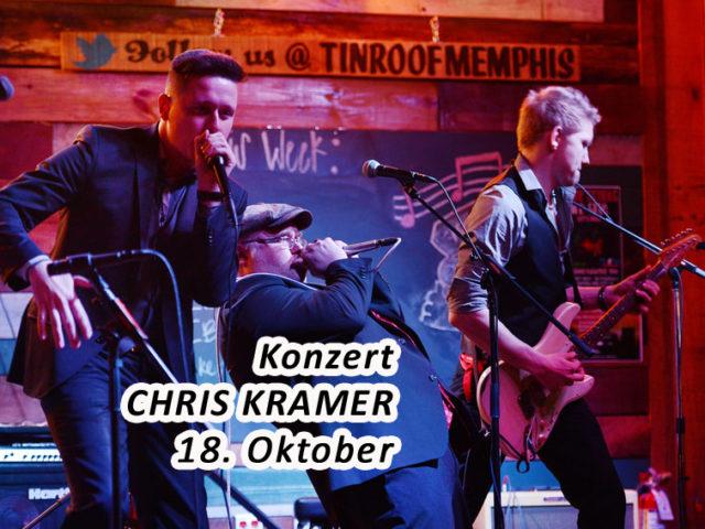 Aktuell: Konzert 18.10. CHRIS KRAMER