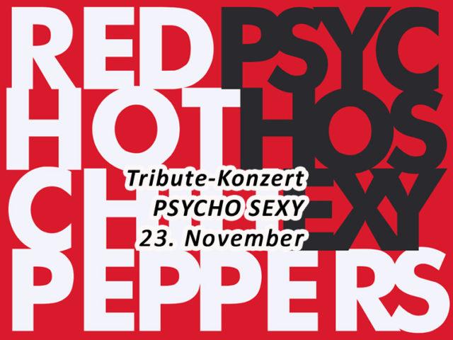 Aktuell: Konzert 23.11. PSYCHO SEXY