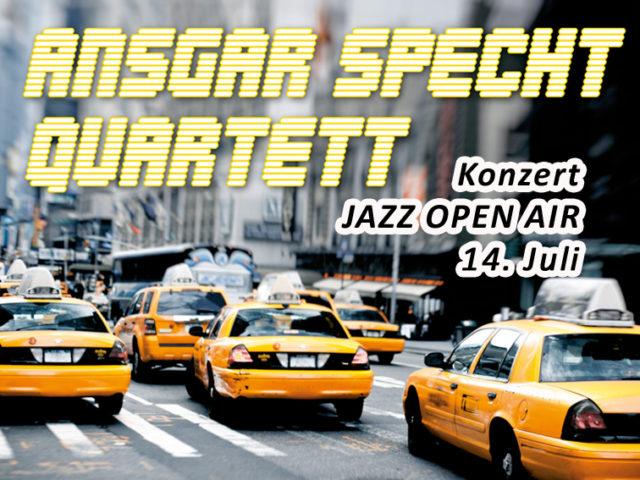 Aktuell: Open Air Jazz Konzert 14.7.