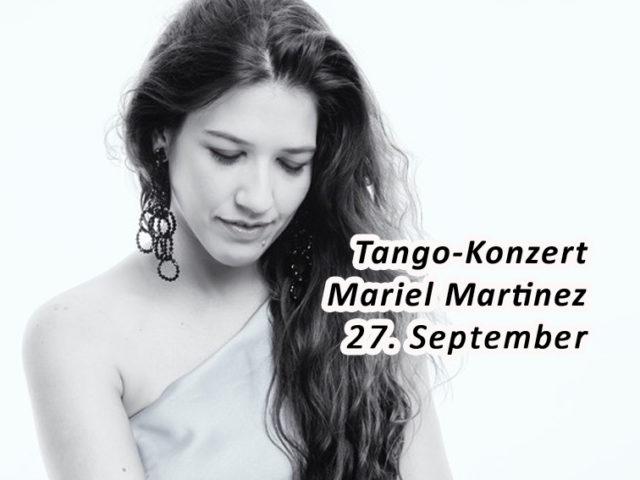 Aktuell: Tango-Konzert 27.9.
