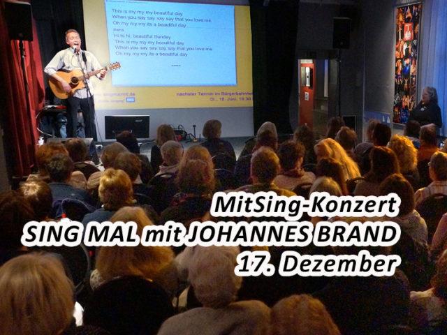 Aktuell: MitSingKonzert 17.12.