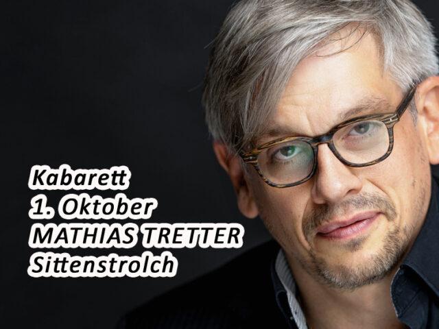 Aktuell: Kabarett Mathias Tretter